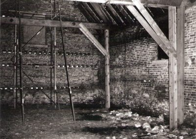 Tithe Barn interior  2
